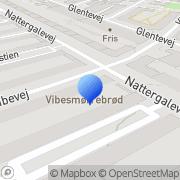 Kort Vibe Smørrebrød København, Danmark