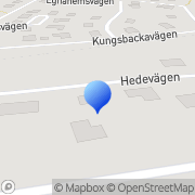 Karta Mp Analysteknik AB Bollebygd, Sverige
