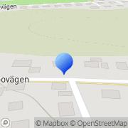 Karta Ingenjörsfirma Mats Johansson Alingsås, Sverige