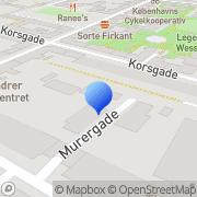 Kort Murergårdens Fritidshjem København, Danmark