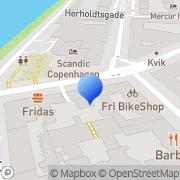 Kort Scientology Kirken København København, Danmark
