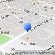 Kort Hexagon Chemistry Consultants A/S København, Danmark