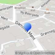 Kort Berlingske Officin Det København, Danmark