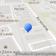 Kort PM-Stans Kastrup, Danmark