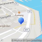 Kort Helsingør Havn Helsingør, Danmark