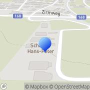 Karte Grundner Entsorgung & Erdbau OG Niedernsill, Österreich