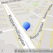 Karta Slottshöjdens Tobak AB Helsingborg, Sverige