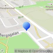 Karta Accura Marknadsutveckling AB Helsingborg, Sverige