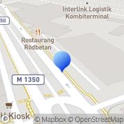Karta SveLast AB Helsingborg, Sverige