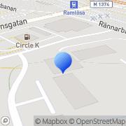Karta Addera Fastighets Helsingborg, Sverige