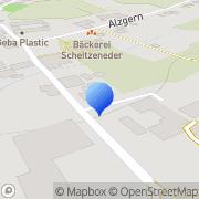 Karte Freudlsperger Beton- u Kieswerke Neuötting, Deutschland