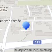 Karte Raiffeisenverband Salzburg eGen Bruck an der Großglocknerstraße, Österreich