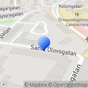 Karta Bergmasth Analys Landskrona, Sverige