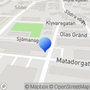 Karta Kamoko Halmstad, Sverige