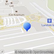 Karta Netto Landskrona Landskrona, Sverige