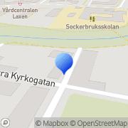 Karta Brithen Coaching Ängelholm, Sverige