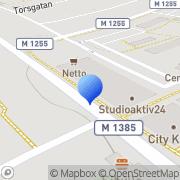 Karta Bjuv Naprapatklinik Bjuv, Sverige