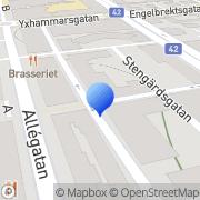 Karta Borås Assistans Borås, Sverige