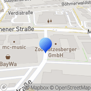 Karte Robomat Freilassing, Deutschland