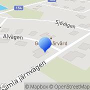 Karta Gerds Hårvård Holsljunga, Sverige