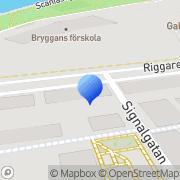 Karta Voltax Logistics Malmö, Sverige
