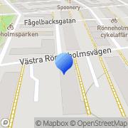 Karta Consigno AB Malmö, Sverige