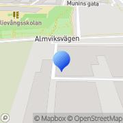 Karta Dnl Of Scandinavia AB Vintrie, Sverige