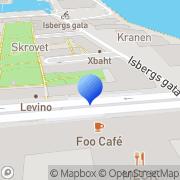 Karta Cabome AB Malmö, Sverige