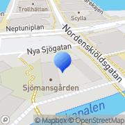 Karta Svenska kyrkan Malmö Malmö, Sverige