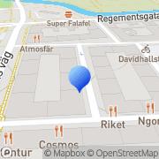 Karta Rontech Malmö, Sverige