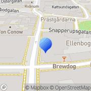 Karta Webhallen Malmö, Sverige