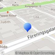 Karta Coop Nära Malmö, Sverige