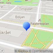Karta Södra Stjärn Racing Malmö, Sverige