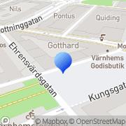 Karta Gabban Design Malmö, Sverige