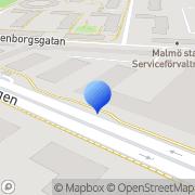 Karta International Green Roof Malmö, Sverige