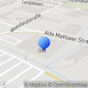 Karte OBI Markt Salzburg-Lengfelden Lengfelden, Österreich