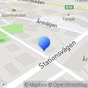 Karta Dreamy Design, Åre Åre, Sverige
