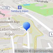 Karte Diakonie.mobil Betreuung & Pflege Salzburg, Österreich