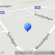 Karta Boa Trädesign AB Torup, Sverige