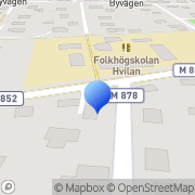 Karta Fabposters HB Åkarp, Sverige