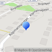 Karta Ekorren & Nöten AB Marieholm, Sverige