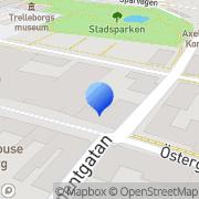 Karta Incondia AB Trelleborg, Sverige