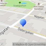Karta Exactus Tommie Edvinsson Trelleborg, Sverige