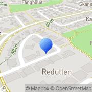 Karta Envamed AB Lund, Sverige