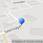 Karta Experimentverkstaden Staffanstorp, Sverige
