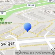 Karta Heor Consulting Lund, Sverige