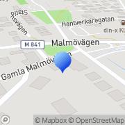 Karta Matöppet Klågerup, Sverige