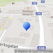 Karta RÖSTÅNGAHALLEN , FRAZZE Röstånga, Sverige