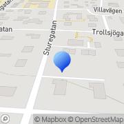 Karta Allan Mårtensson Företagsutveckling AB Eslöv, Sverige