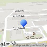 Map Jaroslav Bošek - Hutní materiály Klatovy, Czech Republic